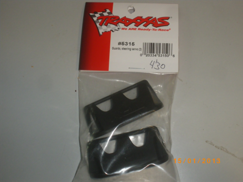 TRX-5315 Traxxas Guards,steering servo (x2)