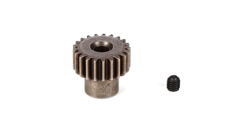Pinion Gear 21T, 48P, M3 x 3 Set Screw by VATERRA (VTR232030)