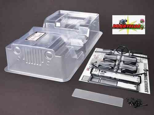 Gmade Sawback Clear Body Set GM40020 Wheelbase: 287mm