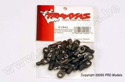 TRX-1942 Rod ends (16 long & 4 short)/ hollow ball connectors (18)/ ball screws (2) ROTULAS for M3