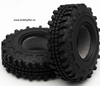 RC 4WD 0098 Trail Buster Scale 1.9 Tires Car Tires, Off-Road (x2) Diametro 103mm