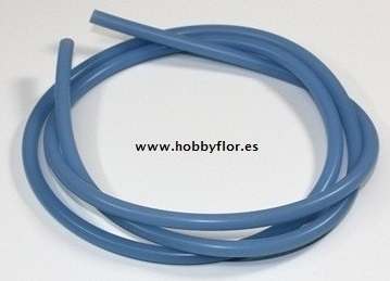 Fuel Tube silicona 1m blue R2300026