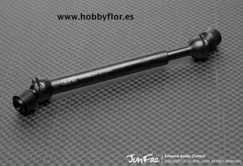 JUNFAC 90034 Hardened Universal Shaft 120-155mm 5mm Hole Fits Tamiya CC01 and Bruiser