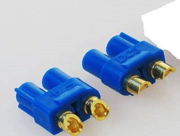 DC3B SET, Male 2 pcs w/ shrink tube compatible con EC3 DS40818