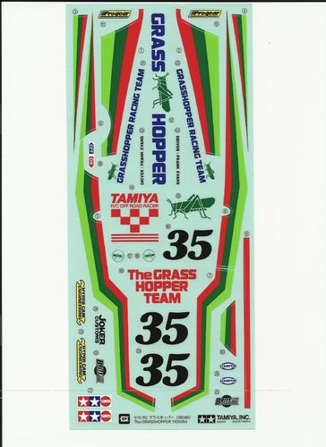 Tamiya RC Sticker The Grasshopper 58346 - 9495468