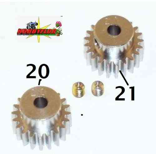 Tamiya 50356 Av Pinion Gear Set 20t / 21t modul 0.6