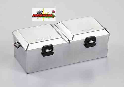 Chromed Plastic Tote Box Finished Type large KB48441
