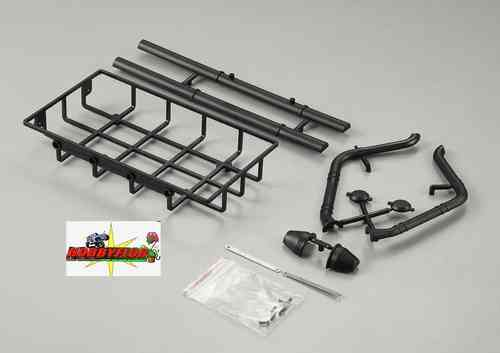 Scale Nylon Baca Luggage Rack , Chimney and Snorkel 1/10 KB48426