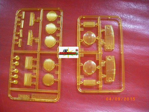Tamiya Hilux P Parts Clear Lenses kit amarillos 58397 9115196