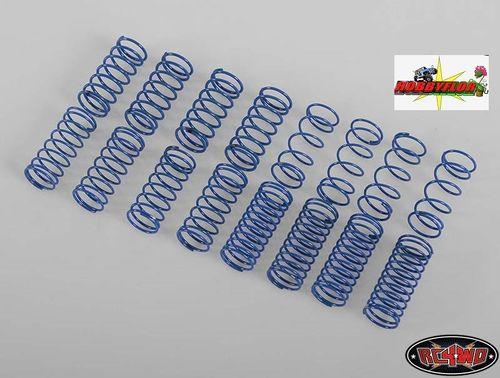 100MM KING SCALE SHOCK SPRING ASSORTMENT Z-S1117 (Kit 16 pcs 50mm)