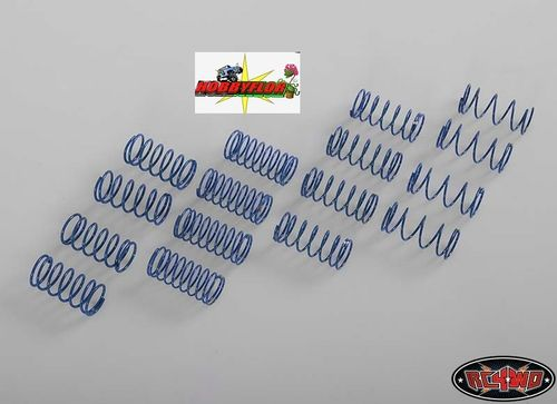 RC4WD 16 muelles 45mm para 90MM KING SCALE SHOCK SPRING ASSORTMENT Z-S1119