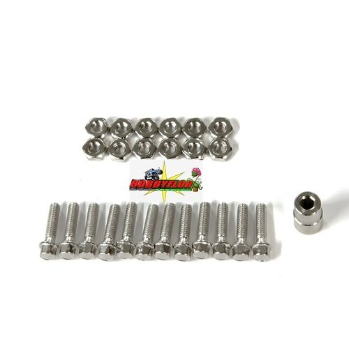 GM72105 M2.5x10mm Scale hex bolt & nut set