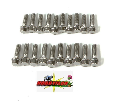 GM72102 M2.5x8mm Scale hex bolts (20)