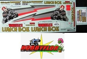 RC Sticker Tamiya Lunch Box 58347 Black Edition 9495756