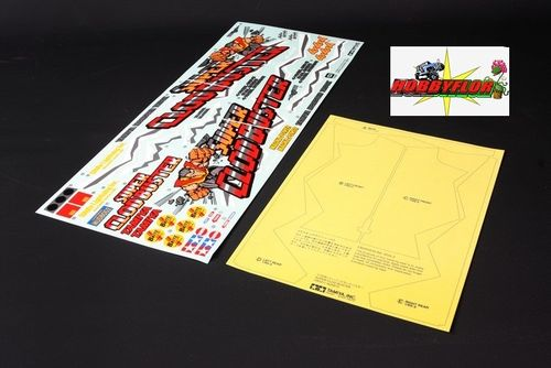 Tamiya Clod Buster Stickers Decals 19495431