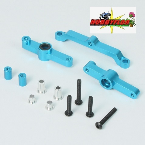Yeah Racing Alu  (blau) for Tamiya DF-02 and dt02 YR-DF-042BU