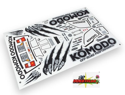 Gmade Komodo Decal Sheet GM49062