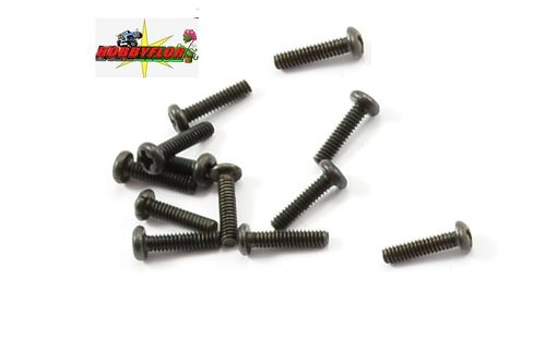 FTX IBEX WASHER HEAD SCREWS 2*8MM (12) FTX7447