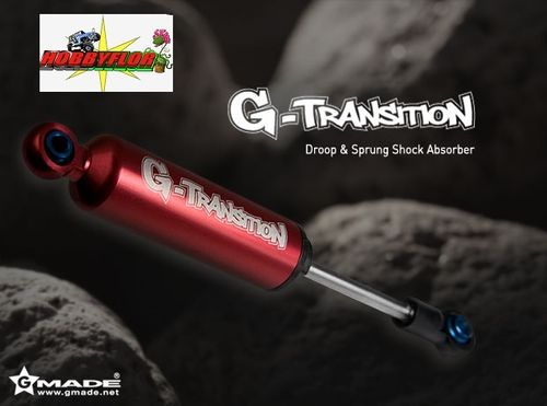 Gmade G-Transition Shock Kit Red 90-107mm (4) for 1/10 - 1/8 Crawler & Truck GM20601