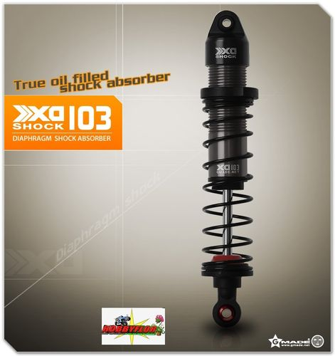Gmade XD Diaphragm Shock 103mm 1/8 & 1/10 scale crawlers & trucks R1 Wraith xr10 (2) GM22007
