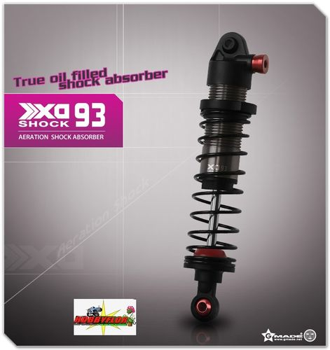 Gmade XD Aeration Shock 93mm for 1/10 scale crawlers & trucks Axial scx10 (2) GM21507