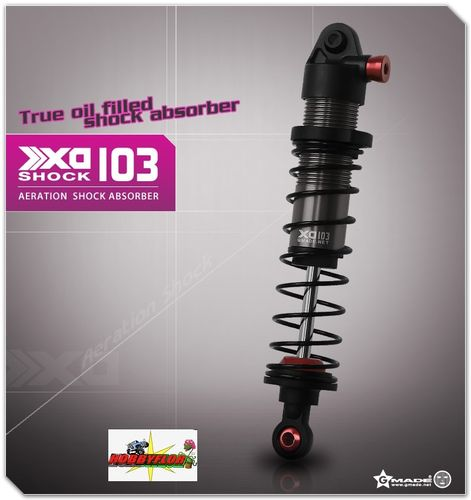 Gmade XD Aeration Shock 103mm (2) For Gmade R1 - axial Wraith and XR10 GM21407