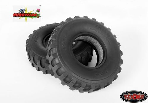 "RC4WD DUKW 1.9"" MILITARY OFFROAD TIRES Z-T0011 Diametro 101.2mm"