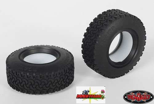 "RC4WD DIRT GRABBER 1.55"" ALL TERRAIN TIRES Z-T0021 Diametro 76mm"