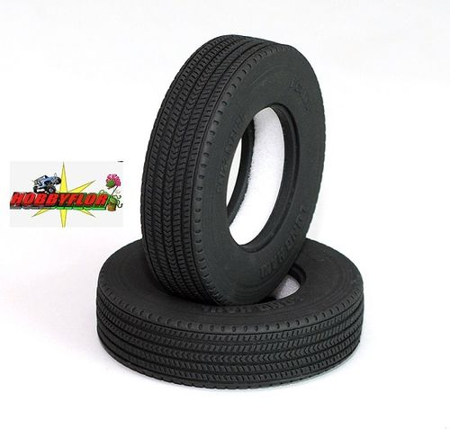 "RC4WD LONG HAUL 1.7"" COMMERCIAL 1/14 SEMI TRUCK TIRES Z-T0026 Diametro 83.5mm"