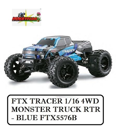 FTX TRACER 1/16 4WD MONSTER TRUCK RTR - BLUE FTX5576B
