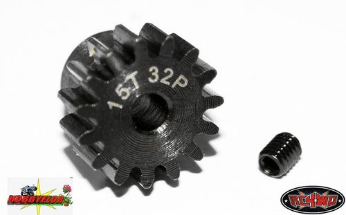 RC4WD 15T 32P HARDENED STEEL PINION GEAR Z-G0014