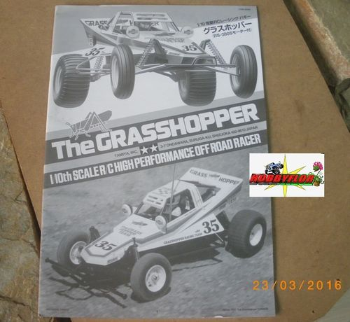 Manual Tamiya Grasshopper 1050428