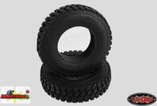 RC4WD ROAD TRUCKER 1.7 1/14 SEMI TRUCK TIRES VVV-S0062 (2pc) Diametro 85.5mm
