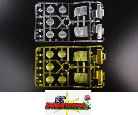 Tamiya Ford F-350 High-Lift RC P Parts 58372 - Clear/Yellow 9115171