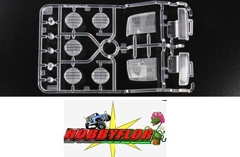 Tamiya Ford F-350 High-Lift RC P Parts 58372 - Clear 9115171