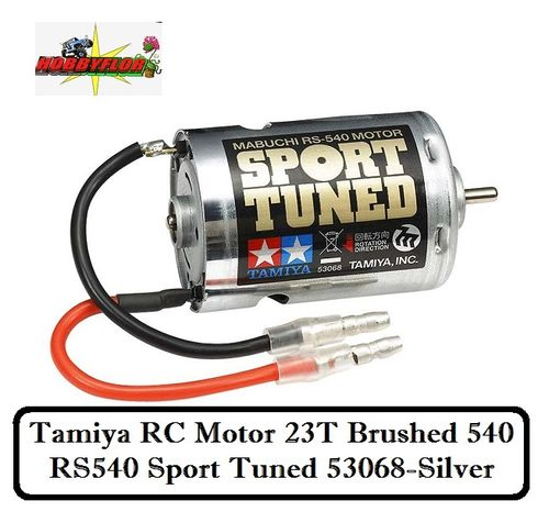 Tamiya RC Motor 23T Brushed 540 - RS540 Sport Tuned 53068-Silver