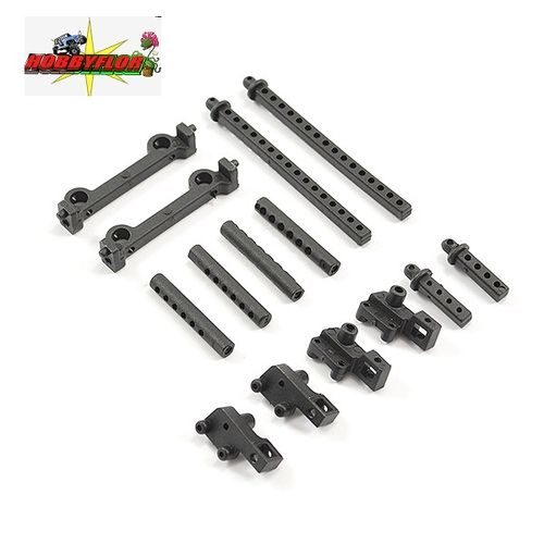 FTX MINI OUTBACK 2.0 1/24 BODY POSTS & BUMPER MOUNTS FTX9305