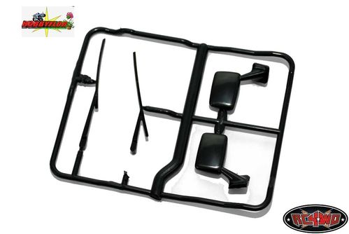 RC4WD MOJAVE - HILUX - BRUISER - MIRROR AND WIPER PARTS TREE Z-B0025