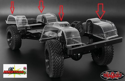 RC4WD INNER FENDER SET FOR DEFENDER D90 BODY Z-S1194