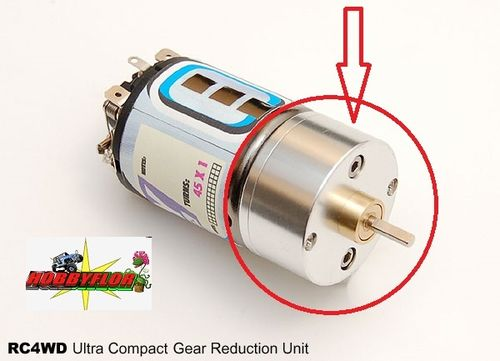 RC4WD 4:1 ULTRA COMPACT GEAR REDUCTION UNIT FOR 540 MOTOR Z-U0012