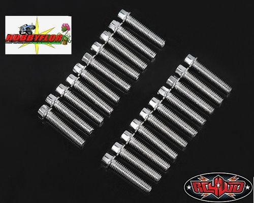 RC4WD MINIATURE SCALE HEX BOLTS (x20)(M2.5 X 12MM) (SILVER) Z-S1598