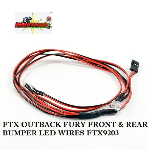 FTX OUTBACK FURY FRONT & REAR BUMPER LED WIRES FTX9203