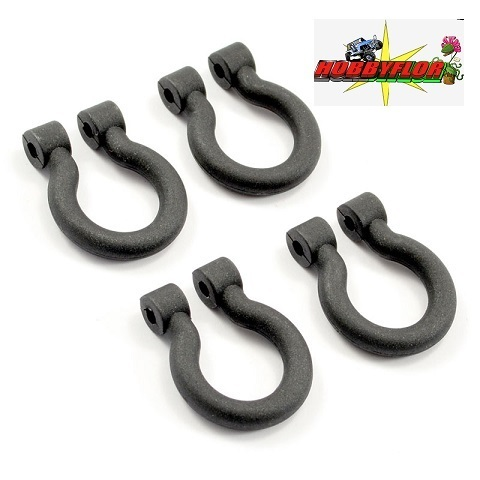 FTX KANYON BODY TOW HOOKS (4PC) FTX8476