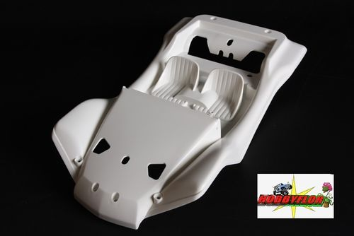 Cuerpo RC Body Tamiya Sand Rover 58500 9335613 Body only