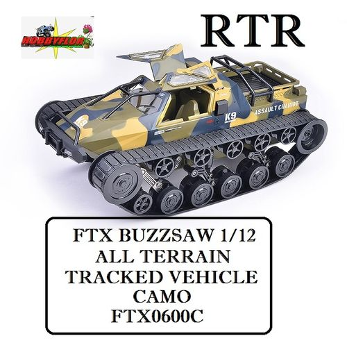 FTX BUZZSAW 1/12 ALL TERRAIN TRACKED VEHICLE - CAMO FTX0600C