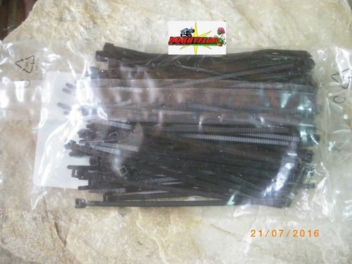 100 Bridas 98x2,5mm (100 pc - Negras)