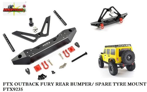 FTX OUTBACK FURY REAR BUMPER/ SPARE TYRE MOUNT FTX9235