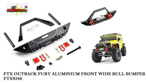 FTX OUTBACK FURY ALUMINIUM FRONT WIDE BULL BUMPER FTX9240