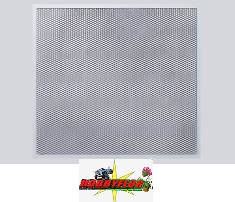KILLERBODY STAINLESS STEEL MOD IFIED AIR INTAKE DIAMOND MESH 100x100mm KB48121