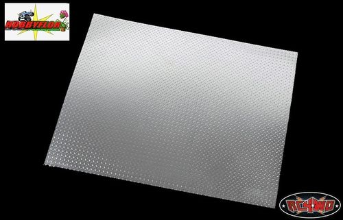 RC4WD SCALE DIAMOND PLATE ALUMINUM SHEETS (1 pieza) 280x220x0.5mm Z-S0533-1